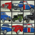 A Classic Car And Truck Collection Embroidered Iron On Patch