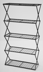 5 Tier Exy Shelving Black