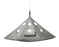UFO Hanging Chair, Silver