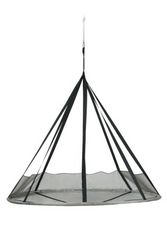Flying Saucer Hanging Chair w/ bird and bug net