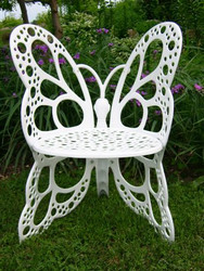 Butterfly Chair - White Scratch & Dent