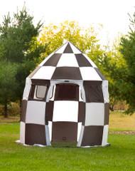 Black and White Event Tent