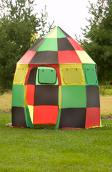 Rasta Colored Tent