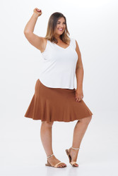 Salsa skirt short-Front view