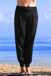 Yasmin harem style pants front view