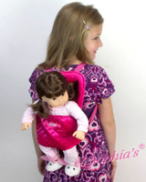 Save $4. Doll Carrier For 18 Inch American Girl Dolls