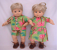 15 inch Bitty Twins Outfit.