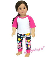 Owl Pajamas For Your American Girl Doll