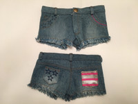 Cut Off Jean Shorts For Your American Girl Doll