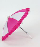 Two Tone Pink Umbrella For Your American Girl Doll