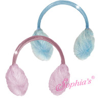 Furry Earmuffs for 18 inch American Girl Dolls