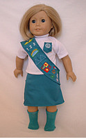 Girl Scout Uniform for 18 inch American Girl Dolls