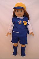 Daisy Uniform for 18 inch American Girl Dolls