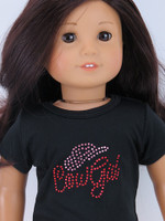 Studded Cowgirl T-Shirt for 18 inch American Girl Dolls
