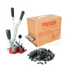KIT-2 COMBINATION TENSIONER/CRIMPER WITH 12mm STRAP & SEAL KIT