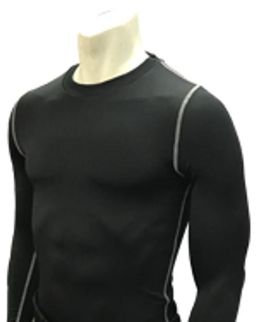 Smitty Black Long Sleeve Compression Shirt