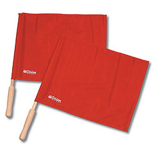 Economy Red Volleyball Linesman Flags
