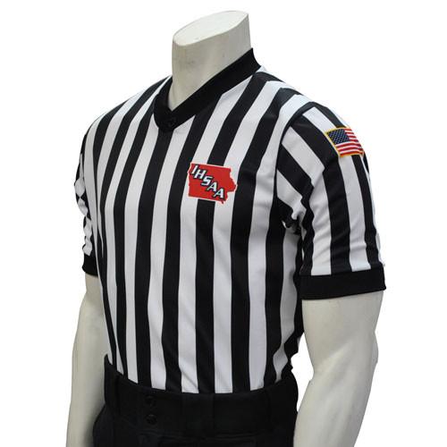 Smitty Iowa Dye Sublimated IHSAA Basketball Referee Shirt