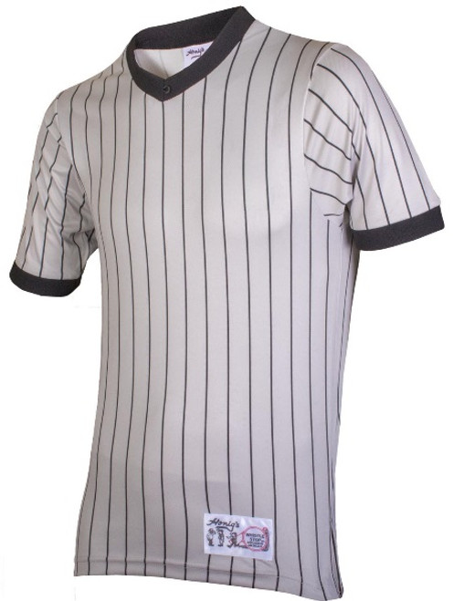Honig's Grey Pinstripe Referee Shirt Extra Tall