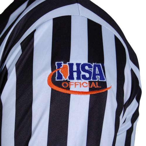 Cliff Keen Illinois IHSA Extra Tall Basketball Referee Shirt