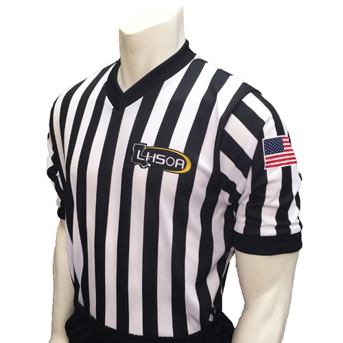Smitty Embroidered LHSOA Ultra Mesh Basketball Referee Shirt