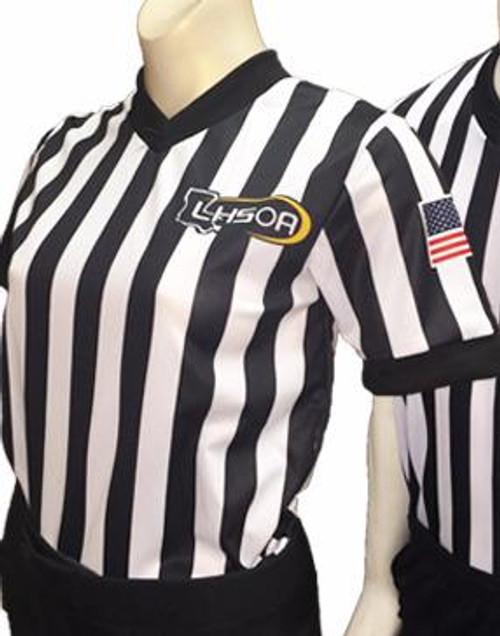 Smitty Embroidered LHSOA Women's Basketball Referee Shirt