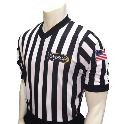 Smitty Embroidered LHSOA Elite Basketball Referee Shirt