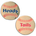 Heads/Tails Softball Stitch Replica Flip Coin