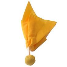 Long Toss Penalty Flag Gold Ball