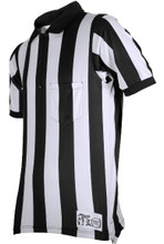 "Honig's Ultra Tech 2"" Stripe Short Sleeve Football Referee Shirt"