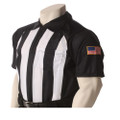"Pop Warner 2 1/4"" Short Sleeve Football Referee Shirt"