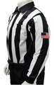 "Smitty Dye Sublimated Long Sleeve 2 1/4"" Football Referee Shirt"