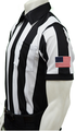 "Smitty Dye Sublimated 2 1/4"" Short Sleeve Football Referee Shirt"