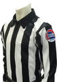 "Smitty Missouri  MSHSAA 2 1/4"" Stripe LS Football Referee Shirt"