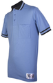 Honig's Carolina Blue Umpire Shirt with Black MLB Collar