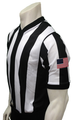 "Smitty 2 1/4"" Dye Sublimated Basketball Referee Shirt"