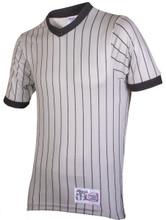 Honig's Grey Pinstripe Referee Shirt Extra Tall