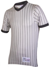 Honig's Grey Pinstripe Referee Shirt