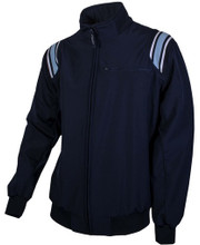 Honig's Therma Base Navy Umpire Jacket with Powder Trim