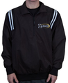Smitty Louisiana LHSOA Baseball Umpire Pullover Black/White Trim