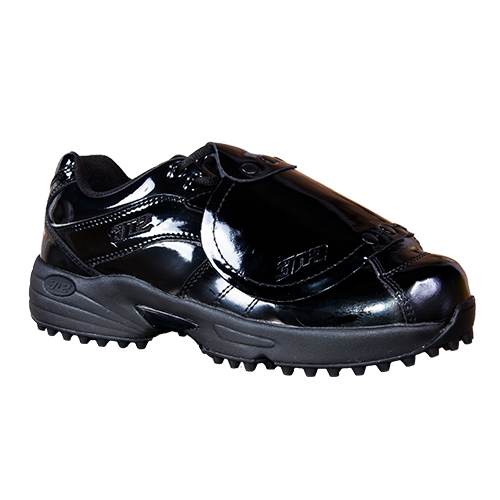 3n2 reaction pro plate low cut patent leather umpire shoe