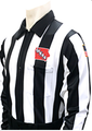 "Smitty Iowa IHSAA 2 1/4"" Foul Weather Football Referee Shirt"