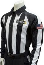 Smitty Louisiana LHSOA Foul Weather LS Football Referee Shirt