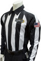 Smitty Louisiana LHSOA Foul Weather LS Football Referee Shirt