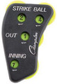 Optic Yellow 4-Dial Umpire Indicator