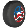 Soft Tire Covers • (Premium Vinyl)