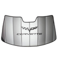 Corvette Accordion Style Sunshade - Insulated : 2005 - 2013 C6