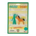 Retro Gumby and Pokey Mini Bendable Pair