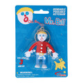 Mr. Bill 3 inch Bendable Keychain
