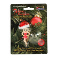 Betty Boop 3D Holiday Dangler